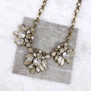 J. Crew Stacked Crystals Necklace